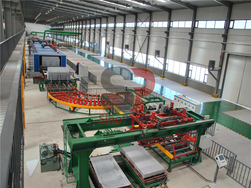 Installation features of fiber cement board and calcium silicate board production line (I)