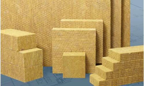 External wall rock wool board and rock wool composite board