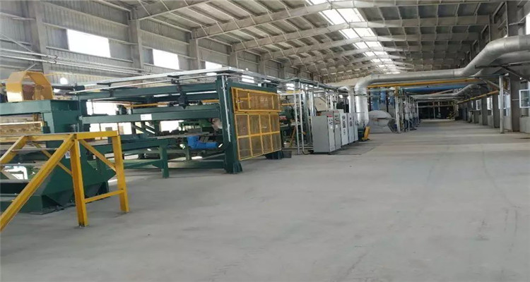 Sinopower 25000t rock wool production line put into operation