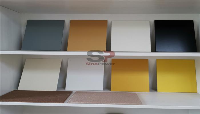 Fiber cement board inorganic coating board