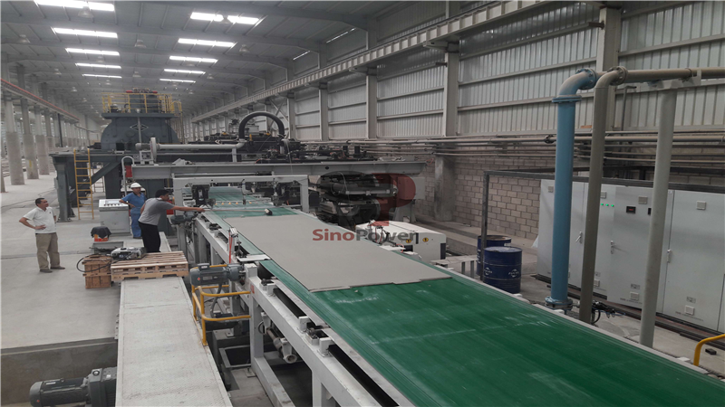 Brief introduction to the manufacturing process of fiber cement board