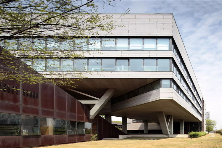 Architectural Aesthetics of fiber cement board — Chinese law Center of Tongji University