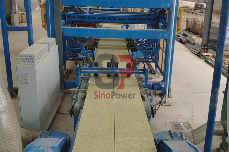 Investment points for rock wool production line