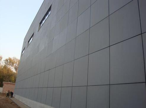 Application of high pressure fiber cement board