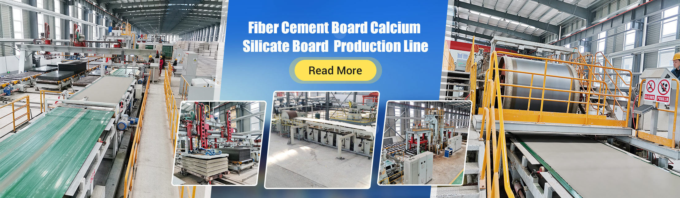 Fiber Cement Board(FC Board)/Calcium Silicate Board Production Line