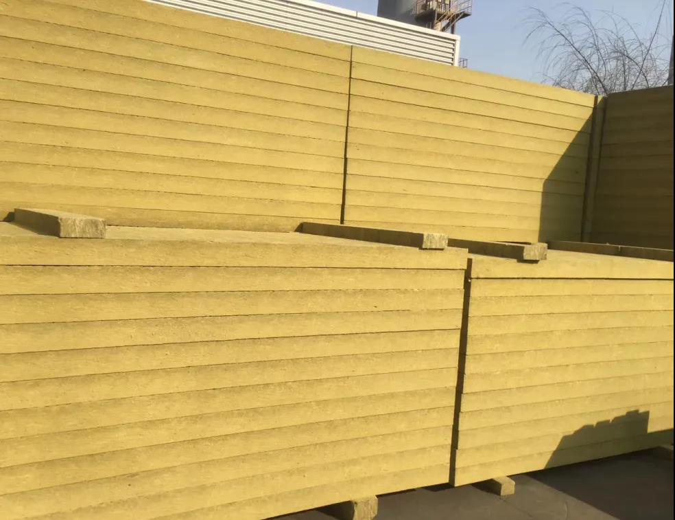 """""""Fifth conventional energy"""" rock wool insulation material"""